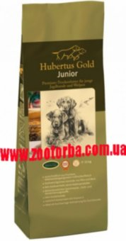 Hubertus Gold , Junior , Хубертус Гольд , Юниор , корм  для щенков , молодых собак .