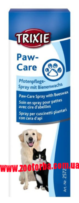 TRIXIE , Paw Care Spray , Спрей для лап , собак , кошек , защита , уход .