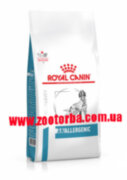 Royal Canin , ANALLERGENIC Dog ,  Роял Канин , Ветеринарная , диета для  собак , пищевая алергия , непереносимость , гиперчувствительность .
