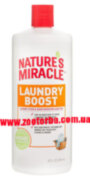 Natures Miracle Stain & Odor Remover , Laundry Boost , Уничтожитель пятен , запаха при Стирке .