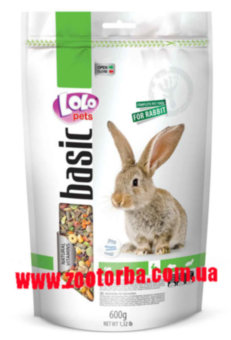 Lolo Pets , Food Complete Rabbit Doypack ,  корм для кроликов .