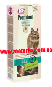 Lolopets , Smakers Premium for degu , корм для Дегу .