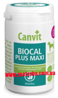 Canvit , BIOCAL PLUS Maxi , Канвит Биокаль Плюс Макси , витамины для собак , минералы , кологен , улучшение подвижности .