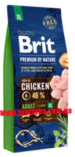 Brit , Premium , Аdult XL , Брит , Корм  для собак , гигантских пород .