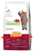 Trainer , Natural , MATURE With Fresh Chicken  , Корм для кошек , от 7 лет , курица .
